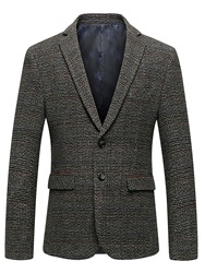 Ericdress Lapel Pocket Fit Mens Blazer