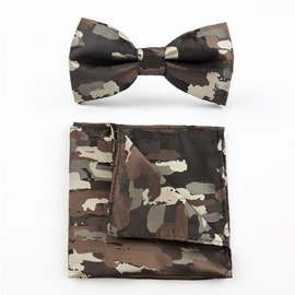 Ericdress Camouflage Wedding Bowtie