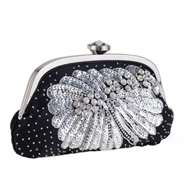 Ericdress Delicate Beads Decoration Evening Clutch