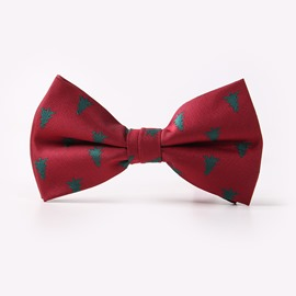 Ericdress Snowflake Christmas Men's Bowtie