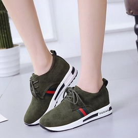 Ericdress Comfy Round Toe Color Block Women's Sneakers