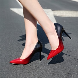 Ericdress Gradient Pointed Toe Stiletto Heel Women's Pumps