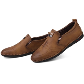Ericdress Comfy Plain Round Toe Men's Loafers