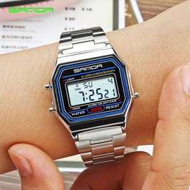 Ericdress Electronic Digtal Display Men's Watch