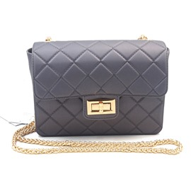 Ericdress Quilted Lining Solid Color Women Crossbody Bag