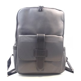 Ericdress Solid Color Unisex Backpack
