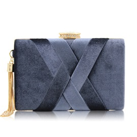 Ericdress Flannelette Knitted Design Evening Clutch