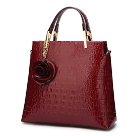 Ericdress Elegant Croco-Embossed Women Tote