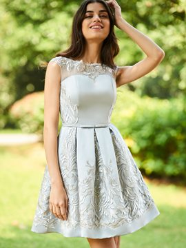 Ericdress A-Line Short Bridesmaid Dress