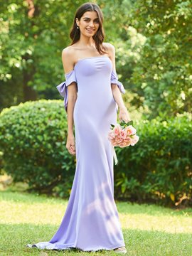 Ericdress Strapless Mermaid Spandex Bridesmaid Dress