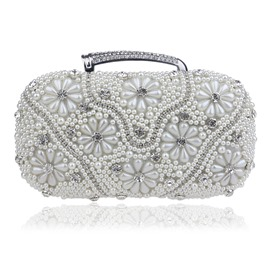 Ericdress Extravagant Pearls Decoration Clutch