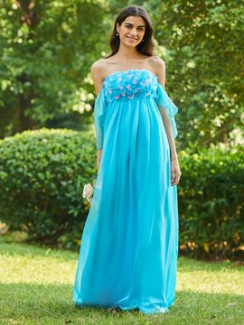 Ericdress Strapless Empire A-Line Bridesmaid Dress