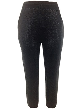 Ericdress Slim Sequins Women's Pants