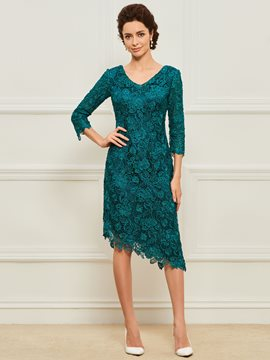 Ericdress Lace Sheath Mother of the Bride Dress
