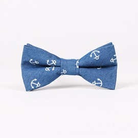 Ericdress Retro Style Denim Bowtie for Men