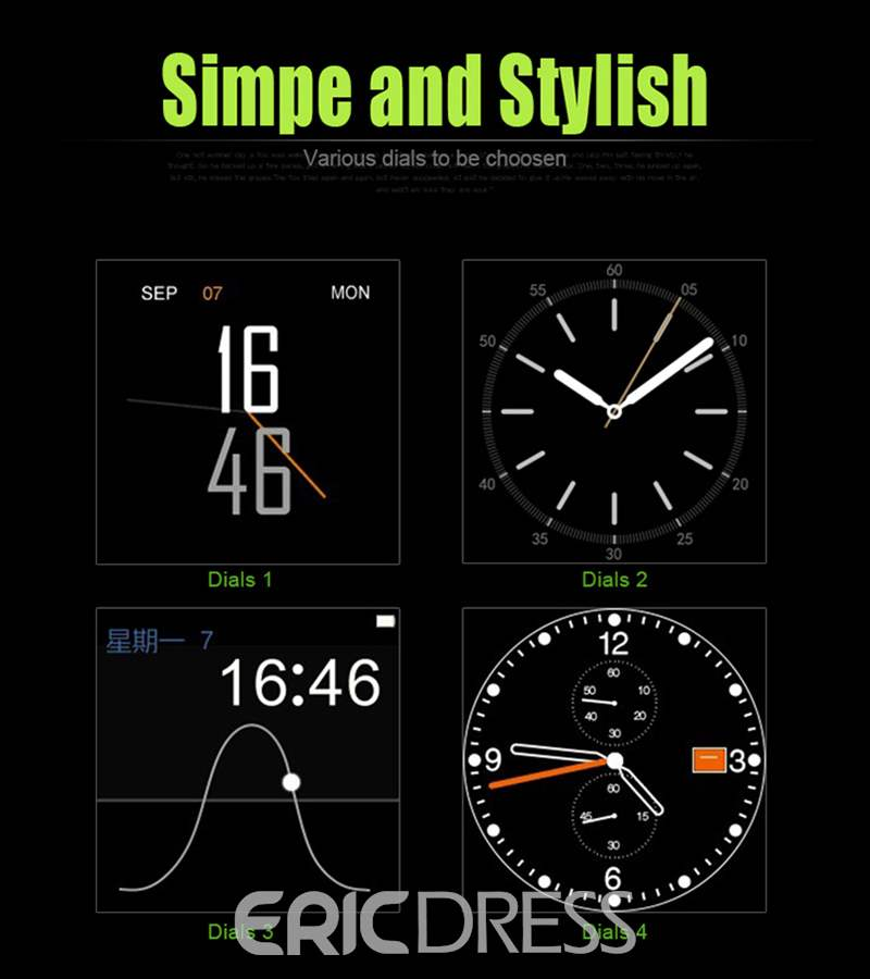 Ericdress High Technique Smart Watch for Men
