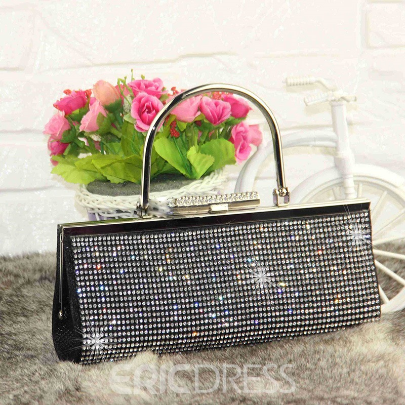 Ericdress Korean Style Sequins Rhinestone Clutch
