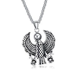 Ericdress Best Seller Eagle Pendant Mens Necklace