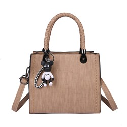 Ericdress Solid Color Thread Zipper Women Handbag