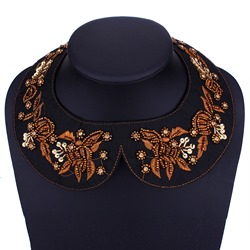 Ericdress Embroidery Imitation Neck Jewelry Necklace