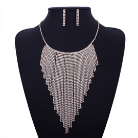 Ericdress Women's Luxurious Tassel Jewelry Set