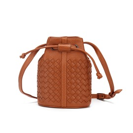 Ericdress Bucket Shape Knitted Mini Crossbody Bag