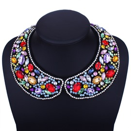 Ericdress Fully-Jewelled Women's Necklace