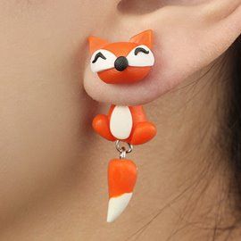 Ericdress Cute Animal Handmade Earring for Women