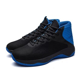 Ericdress Mesh Color Block Round Toe Men's Athletic Shoes