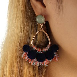 Ericdress Tassel National Style Earring for Women