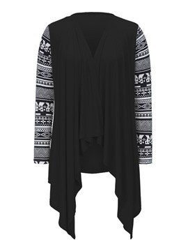 Ericdress Geometric Summer Cardigan Knitwear