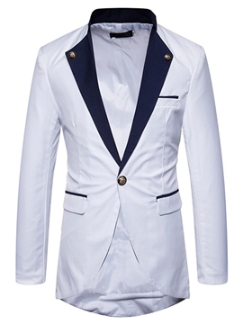 Ericdress Lapel Slim Fit Men's Blazer