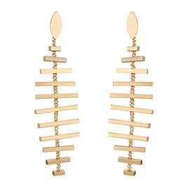 Ericdress Fishbone Design Women's Earring