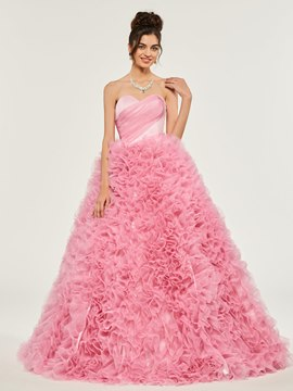 Ericdress Sweetheart Empire Pleats Ruffle Ball Quinceanera Dress