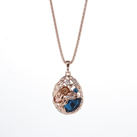 Ericdress Hollow Out Sweater Necklace for Women