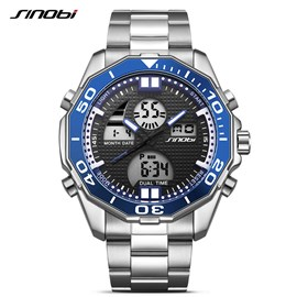 Ericdress JYY Mineral Crystal Men's Electronic Sports Watch
