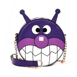 Ericdress Lovely Cartoon Prints Chain Crossbody Bag