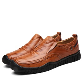 Ericdress Round Toe Slip-On Plain Men's Casual Shoes