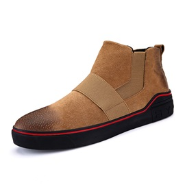 Ericdress Fashion Elastic Band Round Toe Men's Boots