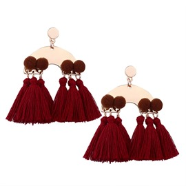 Ericdress Stylish Tassel Earring for Women