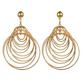 Ericdress Personal Multilayer Alloy Earring for Women