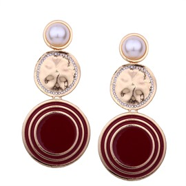 Ericdress Diamante Women's Drop Earring