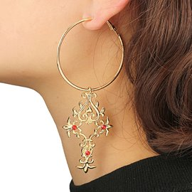 Ericdress Punk Style Long Earring for Women