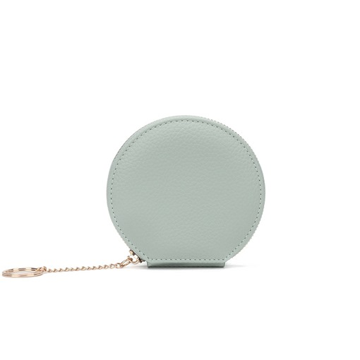 Ericdress Circular Solid Color Chain Women Wallet
