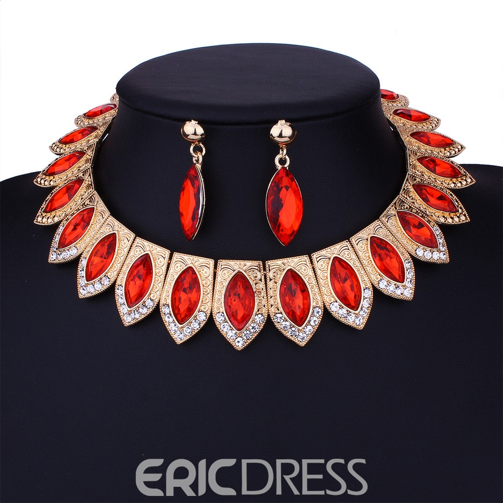 Ericdress Wedding Accessories Diamante Jewelry Set for Women