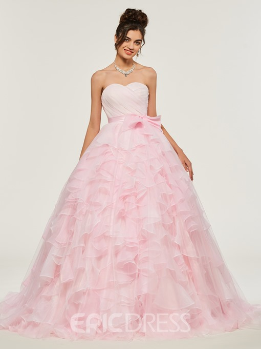 Ericdress Sweetheart Empire Layers Ball Quinceanera Dress