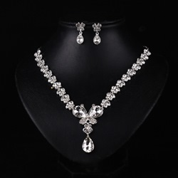 Ericdress Alloy Rhinestone Wedding Jewelry Set