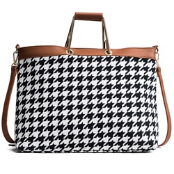 Ericdress Classic Houndstooth Pattern Women Handbag