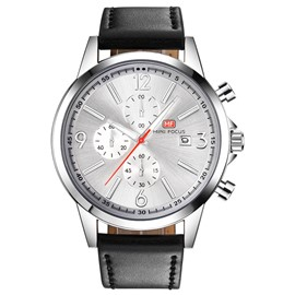 Ericdress JYY Leather Strap Men's Watch