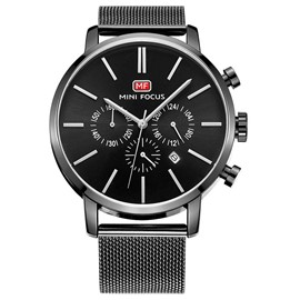 Ericdress JYY High Hardness Crystal Dial Mirror Men's Watch